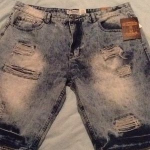 Jeanius  blue jean shorts $15 TODAY